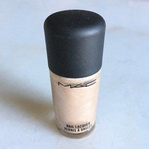3/$50 MAC nail color Peaceable shimmery nude cream